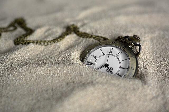 埋もれている時間
