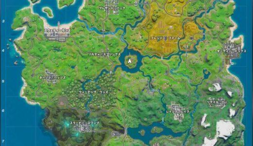 【フォートナイト】シーズン11の新マップ全貌を大公開!!海や川でも新しい要素が盛りだくさん!!