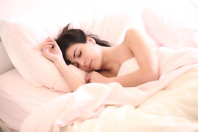 いつも同じ時間に寝て、同じ時間に起きる