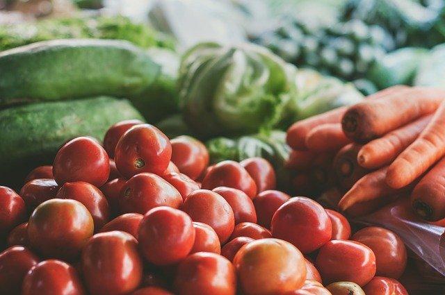 生鮮食品売り場に直行する